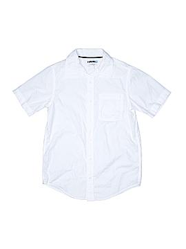 Tony Hawk Short Sleeve Button-Down Shirt Size L (Youth)
