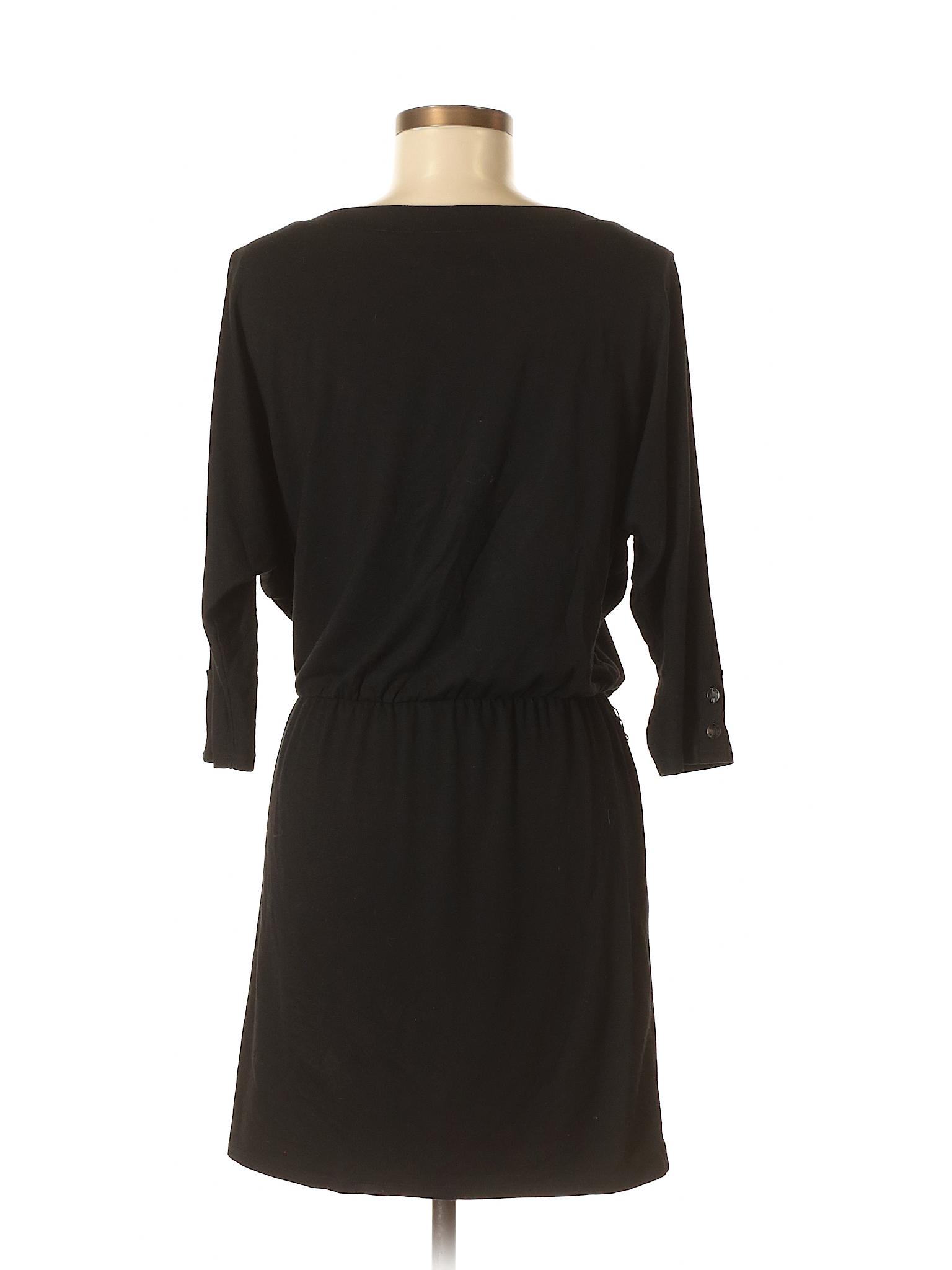 White Dress winter Market House Black Casual Boutique 5qxfA5