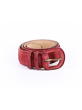 Lands' End Leather Belt 32 Waist