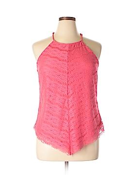 Three Pink Hearts Trixi Sleeveless Blouse Size XL