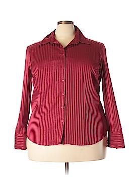 Covington Outlet Long Sleeve Button-Down Shirt Size 20 - 22 (Plus)