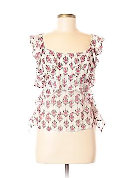 Club Monaco Sleeveless Silk Top Size M