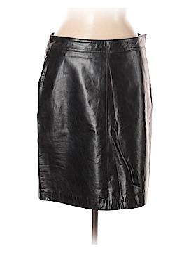 Tommy Hilfiger Leather Skirt Size 8