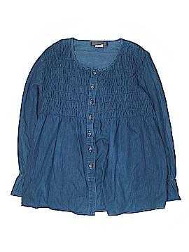 Streetwear Long Sleeve Blouse Size 14