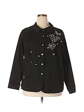 Quacker Factory Jacket Size 2X (Plus)