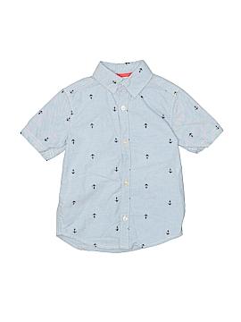 Carter's Short Sleeve Button-Down Shirt Size 4T