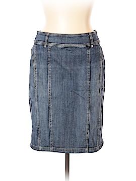 Jacqui-E Denim Skirt Size 10