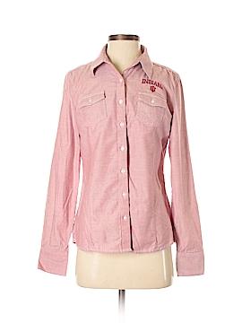 Annika Cutter & Buck Long Sleeve Button-Down Shirt Size S
