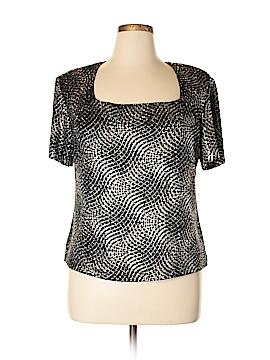 Ronni Nicole II Short Sleeve Top Size 1X (Plus)