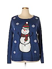 Karen Scott Women Pullover Sweater Size 2X (Plus)