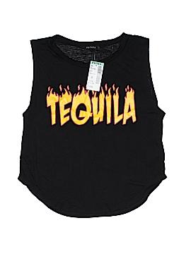 Papaya Sleeveless T-Shirt Size M