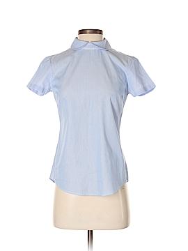 Brooks Brothers Short Sleeve Blouse Size 0