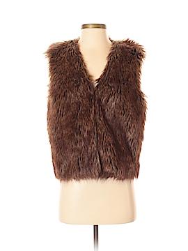WD.NY Faux Fur Vest Size S