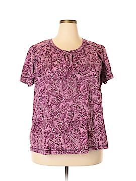 SJBactive by St. John's Bay Short Sleeve T-Shirt Size 3X (Plus)