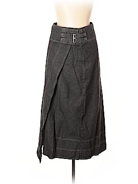Flower Denim Skirt Size 10