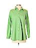 D&Co. Women Long Sleeve Button-Down Shirt Size XS