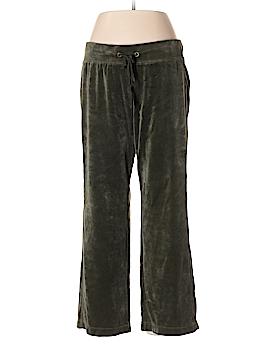 Eddie Bauer Velour Pants Size L (Petite)