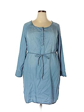 Ava & Viv Casual Dress Size 1X (Plus)