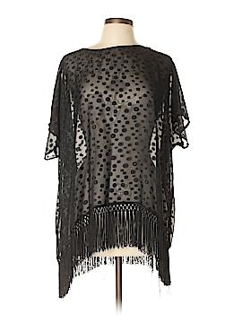Bobeau Short Sleeve Blouse Size L