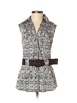 Apt. 9 Sleeveless Button-Down Shirt Size M