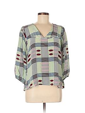 Tucker Long Sleeve Silk Top Size M