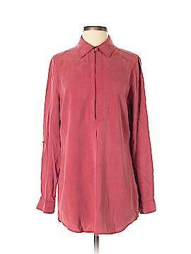 Tyler Boe Long Sleeve Silk Top Size S