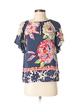 Maeve Short Sleeve Silk Top Size 0