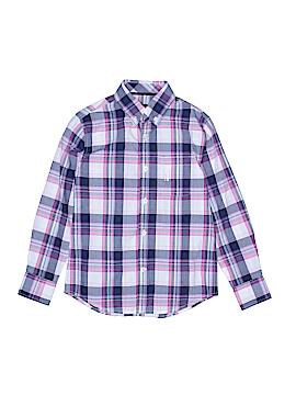 Johnnie-O Long Sleeve Button-Down Shirt Size 8