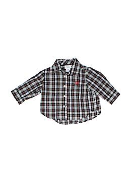 Chaps Long Sleeve Button-Down Shirt Size 3 mo