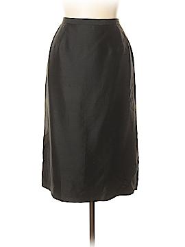 Albert Nipon Silk Skirt Size 12