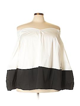 ELOQUII 3/4 Sleeve Blouse Size 24 (Plus)