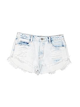 En Creme Denim Shorts Size S