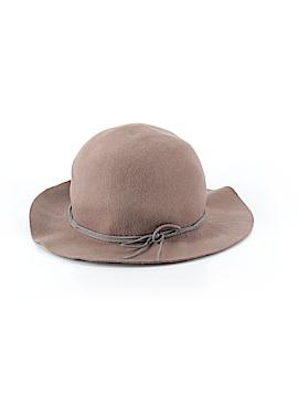 Black Saks Fifth Avenue Hat One Size