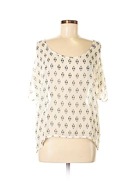 One Clothing Short Sleeve Blouse Size L