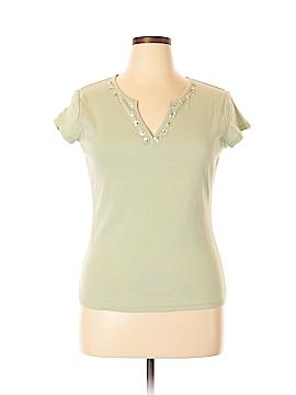 Liz & Co Short Sleeve T-Shirt Size XL