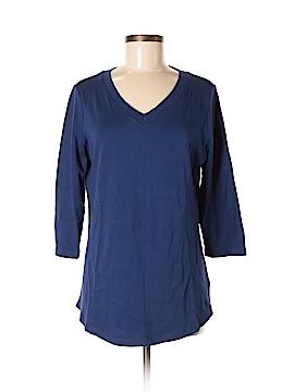 Isaac Mizrahi LIVE! 3/4 Sleeve T-Shirt Size M