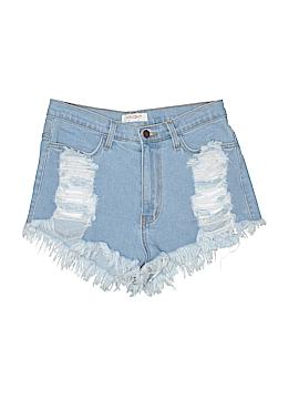 Vibrant M.I.U Denim Shorts Size L