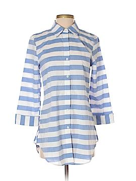 Zac & Rachel 3/4 Sleeve Button-Down Shirt Size S