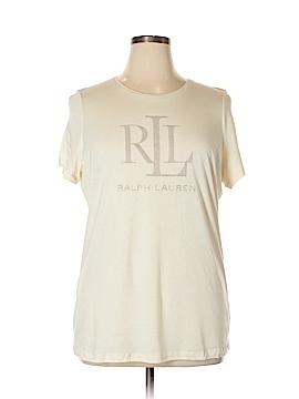 Lauren by Ralph Lauren Short Sleeve T-Shirt Size 1X (Plus)