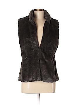 Banana Republic Faux Fur Vest Size M