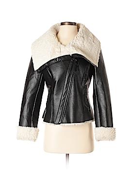 Steve Madden Faux Leather Jacket Size S