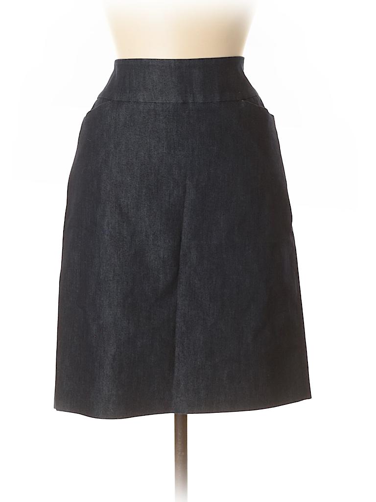 Halogen Women Denim Skirt Size 6