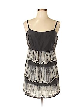 CAbi Sleeveless Silk Top Size 10
