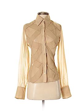 Dress-U By Sharon Long Sleeve Blouse Size S