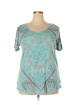Style&Co Short Sleeve T-Shirt Size 0X (Plus)