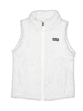 Patagonia Faux Fur Vest Size 12