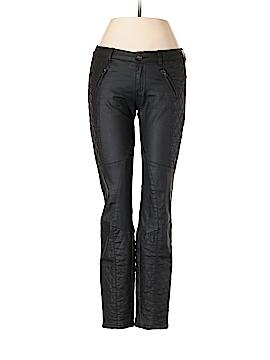Leara Woman Faux Leather Pants Size 2