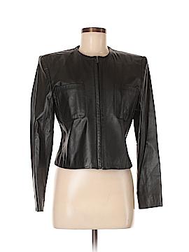 Jones New York Leather Jacket Size 8