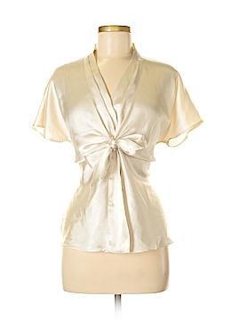 Kasper Short Sleeve Blouse Size M
