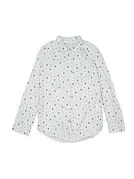 H&M Long Sleeve Button-Down Shirt Size 10 - 12